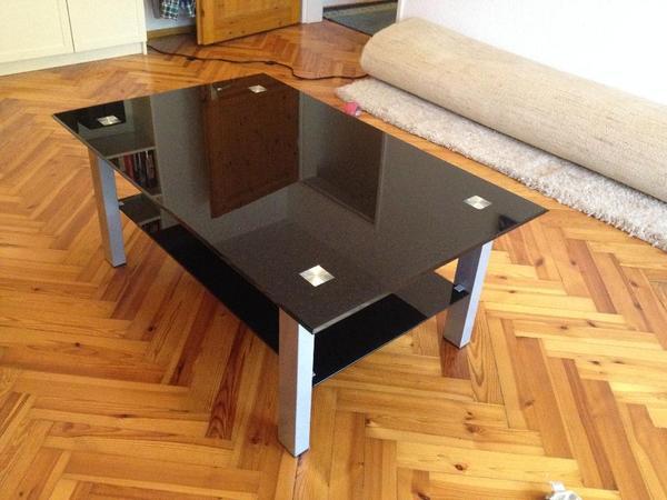 Tischplatte glas neu und gebraucht kaufen bei for Couchtisch schwarzglas