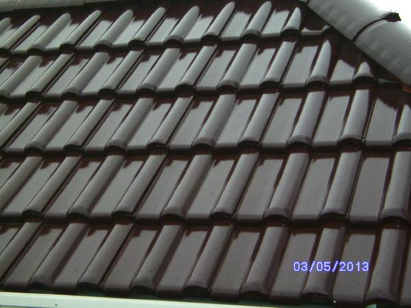 Dachziegel creaton maxima weinrot glasiert originalverpackt in gerabronn fliesen keramik - Fliesen weinrot ...