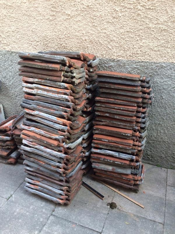Teakholz Gartenmobel Streichen : Dachziegel zu verschenken » Fliesen, Keramik, Ziegel aus Stuttgart