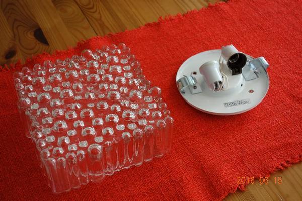 wandlampe glas kaufen gebraucht und g nstig. Black Bedroom Furniture Sets. Home Design Ideas