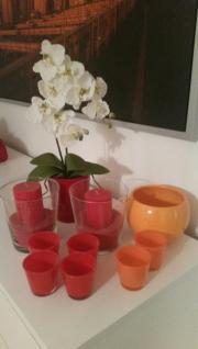 Dekorative Glas vase