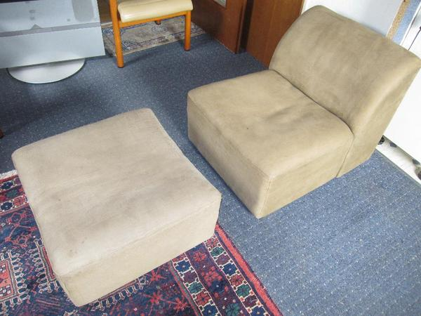 design klassiker de sede ds 10 bullen neckleder sessel hocker in haag polster sessel couch. Black Bedroom Furniture Sets. Home Design Ideas