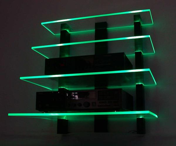 fernseher wand darunter hifi rack die neuesten innenarchitekturideen. Black Bedroom Furniture Sets. Home Design Ideas
