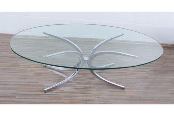 Sonstige designklassiker gebraucht kaufen - Glastisch oval ...