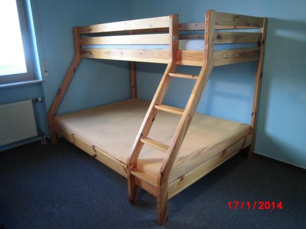 doppelhochbett in karlsruhe matratzen rost bettzeug kaufen und verkaufen ber private. Black Bedroom Furniture Sets. Home Design Ideas