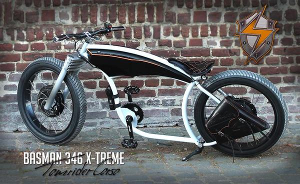 e bike elektrofahrrad custom e bike cruiser bike cruiser. Black Bedroom Furniture Sets. Home Design Ideas