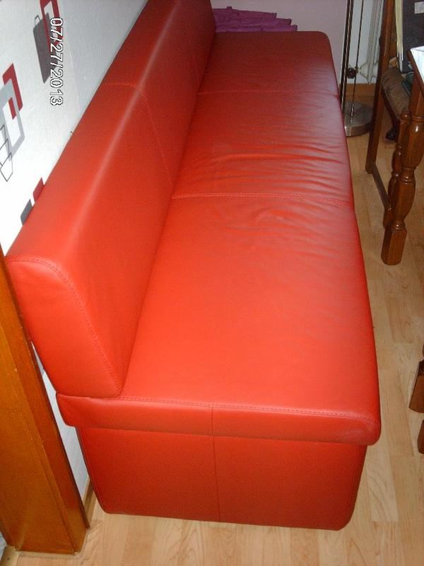 echt leder sitzbank polster sessel couch aus monzelfeld. Black Bedroom Furniture Sets. Home Design Ideas
