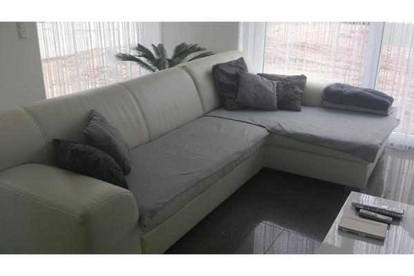 couch bueno creme weiss sofa mit schlaffunktion pictures to pin on. Black Bedroom Furniture Sets. Home Design Ideas
