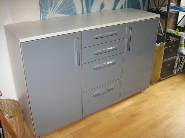 Hemnes Sideboard Graubraun ~  ist, genutzt werden kann sie aber genauso gut als Sideboard im