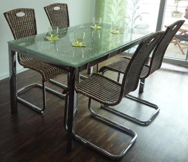 preisreduzierung jetzt 140eur f r den esstisch schwingst hle sind auch zu verkaufen. Black Bedroom Furniture Sets. Home Design Ideas