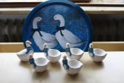 Eierbecher Gans Keramik