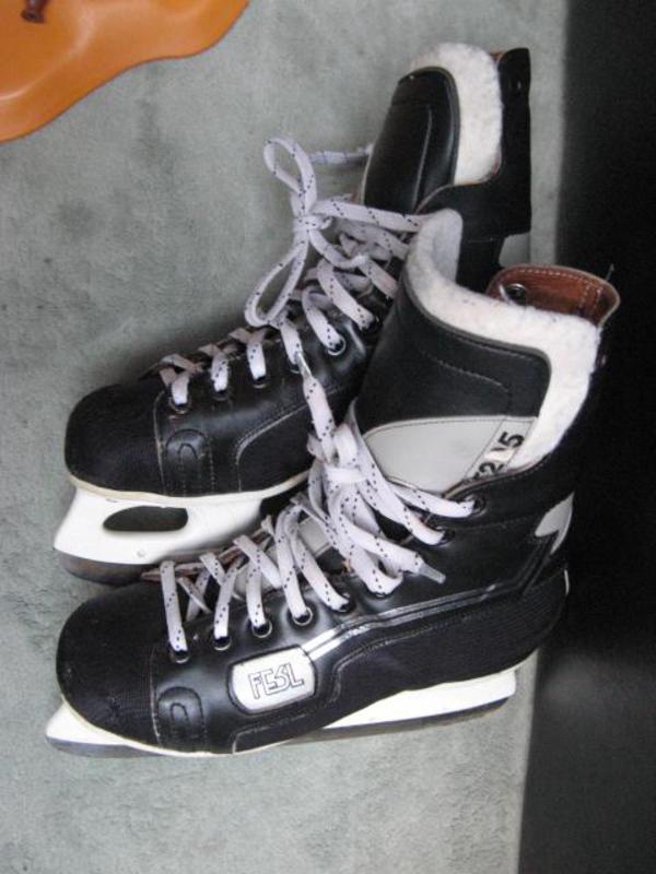eishockey schlittschuhe fesl xt 205 gr 41 innenschuh. Black Bedroom Furniture Sets. Home Design Ideas