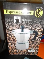 Espressokanne/Espressokocher