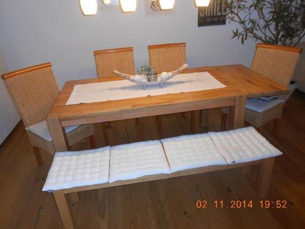 Esstisch Mit Stuhlen Und Sitzbank ~ Das Beste aus Wohndesign und Möbel Inspiration