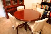 Esszimmergarnitur Mahagoni Tisch