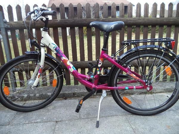 fahrrad 24 zoll neuwertig in sauerlach kinder fahrr der. Black Bedroom Furniture Sets. Home Design Ideas