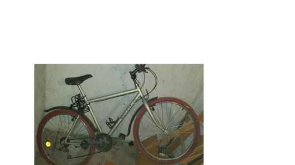 verkauft wird ein fahrrad mountain bike mit shimano. Black Bedroom Furniture Sets. Home Design Ideas