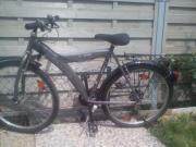 Fahrrad silberfarben, 26