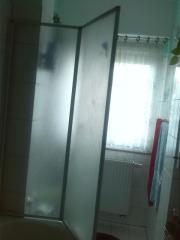 Faltduschwand für Badewanne,