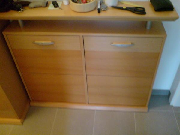 flurgarderobe schuhschrank spiegel garderobenschrank jackenstange in m nchen garderobe. Black Bedroom Furniture Sets. Home Design Ideas