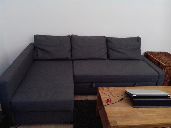 Ikea Utrusta Tryck Och Öppna ~ Friheten Eckbettsofa Grau in Darmstadt  IKEA Möbel kaufen und