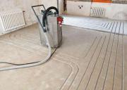 Fußbodenheizung einfräsen, nachträglicher