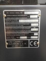 Gabelstapler Frontstapler OM