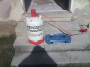 Gas-Campingkocher + Gasflasche