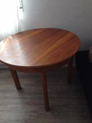 esstisch rund 140cm haushalt m bel gebraucht und neu. Black Bedroom Furniture Sets. Home Design Ideas