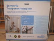 Geuther Schwenk-Treppenschutzgitter