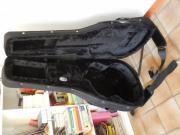 Gitarrenkoffer mit Gitarre