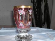 Glas-Pokal, Biedermeier,