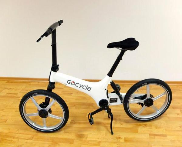 das 15 kg leichte gocycle g2r ist auf die ma e 600mm x. Black Bedroom Furniture Sets. Home Design Ideas
