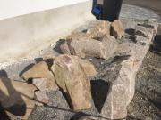 Granitsteine natur verschiedene