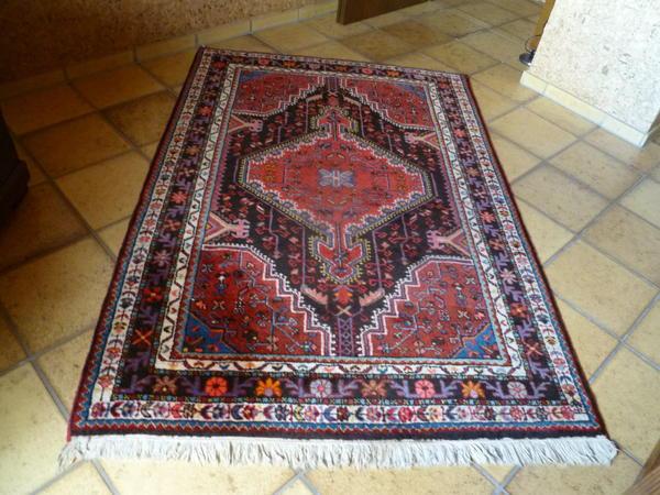 Hamadan Teppich, Persien handgeknüpft  originaler mit