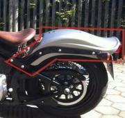 Harley Crossbones Heckfender