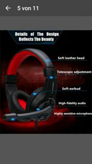 Headset Pc/Ps4 Konsole etc gebraucht kaufen  Schwalmtal