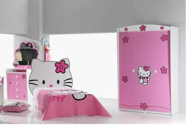 nstige Hello Kitty Bett Kinderzimmer AXA M?bel Niederlande In