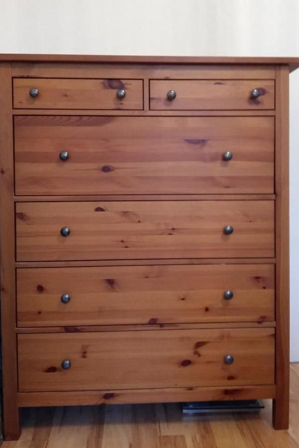 ikea kommode hemnes gebraucht kaufen nur 3 st bis 60 g nstiger. Black Bedroom Furniture Sets. Home Design Ideas