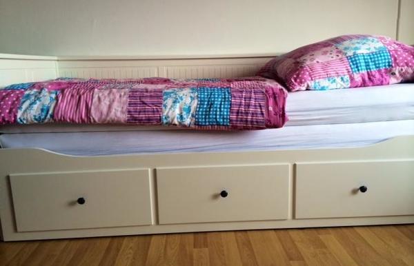 hemnes tagesbett ikea wie neu in m nchen betten kaufen. Black Bedroom Furniture Sets. Home Design Ideas