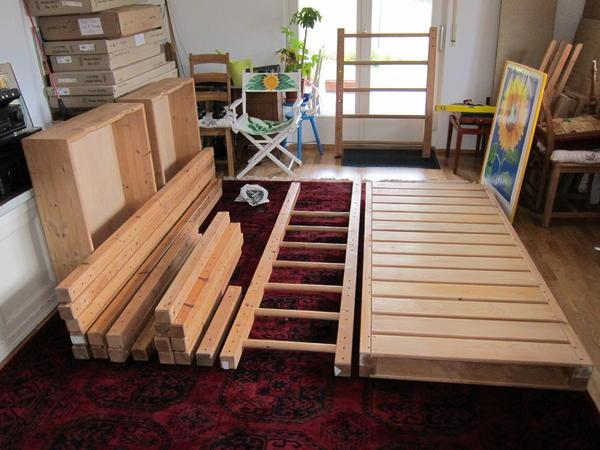 hochbett etagenbett kinderbett in forbach betten kaufen und verkaufen ber private kleinanzeigen. Black Bedroom Furniture Sets. Home Design Ideas