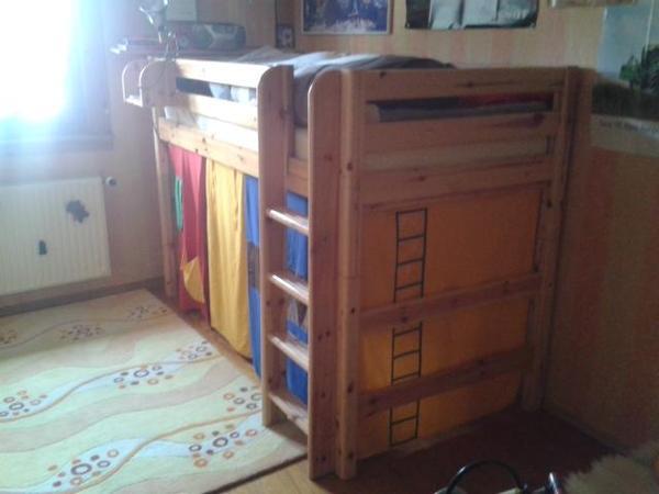 hochbett von flexa zu verkaufen in steinweiler wiegen babybetten reisebetten kaufen und. Black Bedroom Furniture Sets. Home Design Ideas