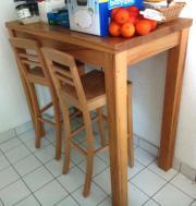Bartisch massivholz kaufen gebraucht und g nstig - Hochtisch mit stuhlen ...