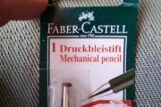 Hochwertiger Druckbleistift 0,5 von Faber Castell zum Zeichnen und Skizzieren, gebraucht kaufen  Hirschaid