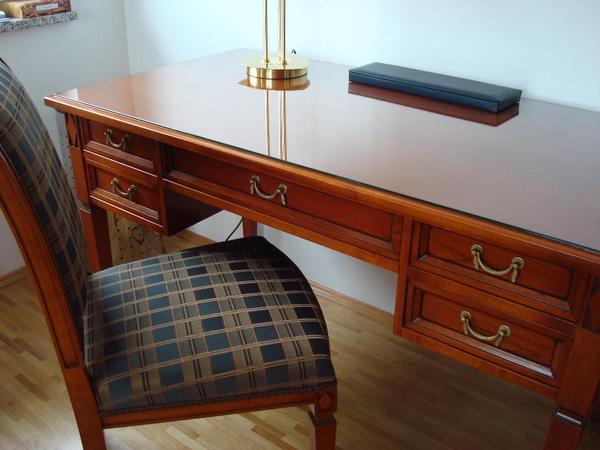 hochwertiger schreibtisch 39 selva 39 in unterhaching. Black Bedroom Furniture Sets. Home Design Ideas