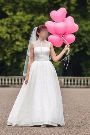 Hochwertiges Brautkleid Ivory,