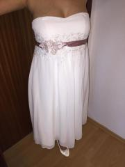 Hochzeitskleid Standesamtkleid Umstandskleid