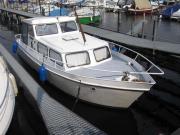 Holländisches Stahlmotorboot