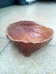 Holz Schale Deko