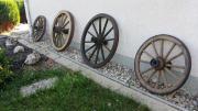 Holz Wagenrad